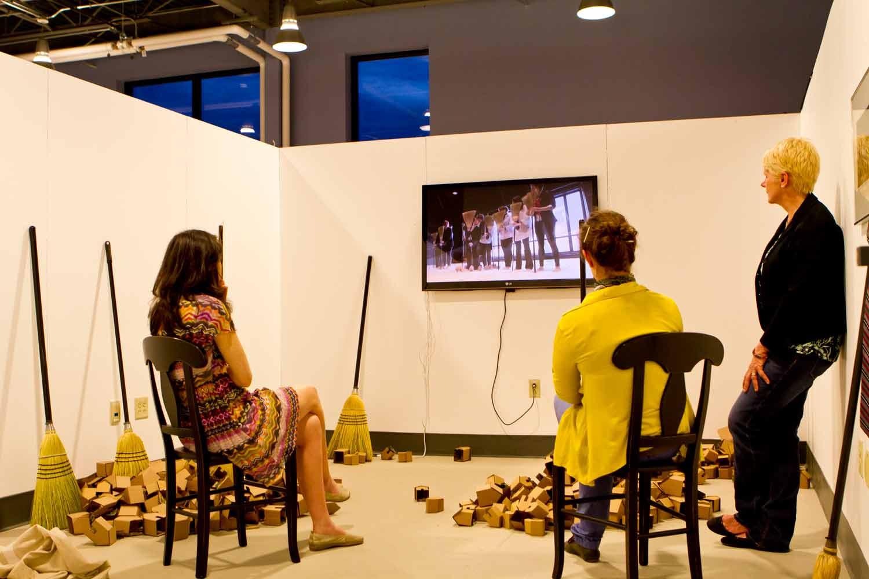 Photo of Open Studio event