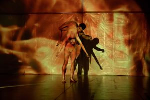"""Image of two dancers in """"NO PLAN B"""""""