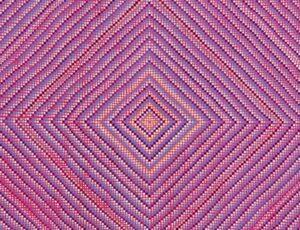Grace DeGennaro, Continuum (Magenta), 2018, oil on linen (detail)